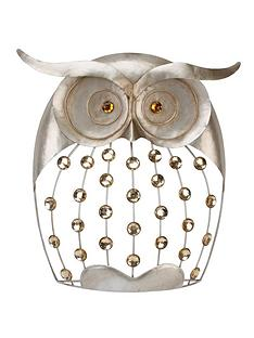 owl-metal-wall-art
