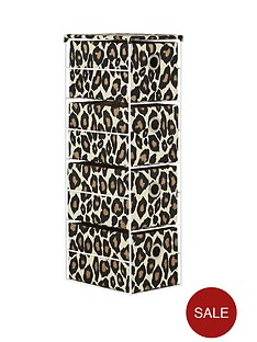 4-tier-animal-print-drawer-unit-leopard