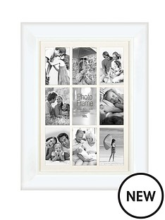 innova-home-9-aperture-photo-frame-white