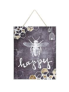 graham-brown-chalkboard-bee-happy-canvas-with-hanging-chain