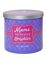 Mums Make Everything Brighter - Lilac Blossoms