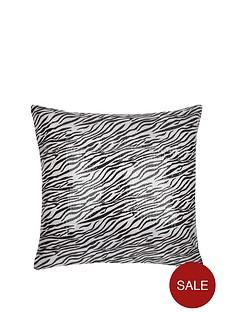 sequin-zebra-cushion