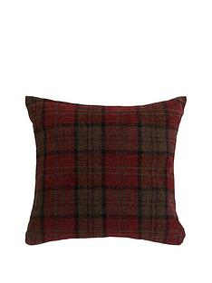 orkney-check-chenille-cushion