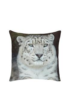fearne-cotton-snow-leopard-print-cushion