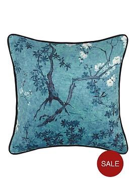 laurence-llewelyn-bowen-floral-print-cushion-jade