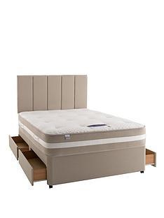 silentnight-mirapocket-1350-geltex-single-2-drawer-divan