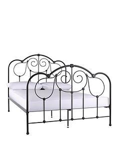 fearne-cotton-aruba-metal-bed-frame-with-optional-mattress