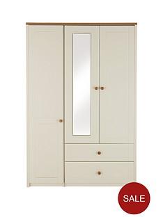 alderley-3-door-mirrored-combi-wardrobe