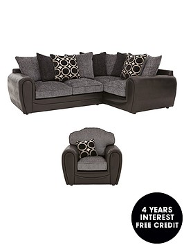 bardot-right-hand-double-arm-corner-group-plus-chair