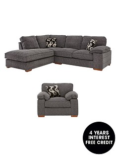 hayden-left-hand-fabric-corner-group-sofa-armchair-buy-and-save