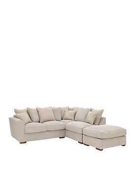 Patterson RightHand Fabric Corner Group Sofa