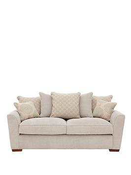 Patterson 3Seater Fabric Sofa
