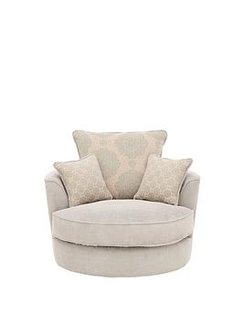 Patterson Fabric Swivel Chair