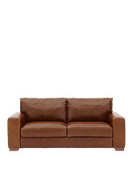 Huntington 3Seater Italian Leather Sofa