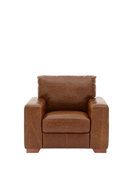 Huntington Italian Leather Armchair