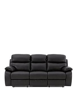 Draper 3Seater Power Recliner Sofa