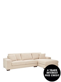 sandy-3-seater-right-hand-fabric-chaise-sofa