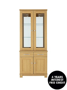 consort-belvoir-ready-assembled-2-door-glass-display-unit