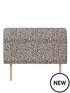 fearne-cotton-snow-leopard-headboard