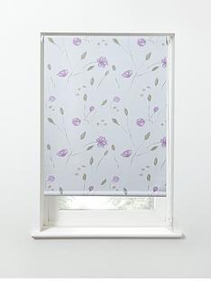 summer-flower-printed-thermal-blackout-roller-blind-pink