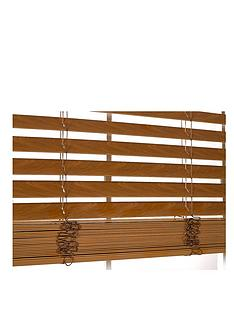 faux-wooden-venetian-blind