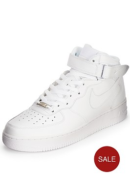 nike-air-force-1-mid-trainers-white