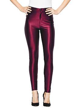 love-label-high-shine-disco-pants