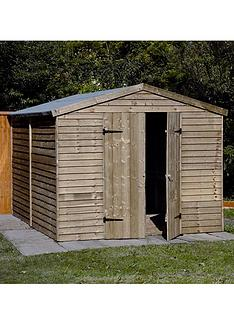 forest-10-x-8-ft-double-door-overlap-shed-assembly-options-available
