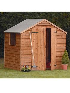 forest-7-x-5-ft-double-door-1-styrene-window-overlap-garden-shed