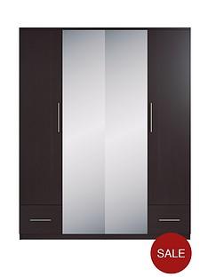cologne-4-door-2-drawer-mirrored-wardrobe