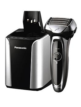panasonic-es-lv95-5-blade-cordless-wet-and-dry-shaver-with-self-cleaning-and-charging-system