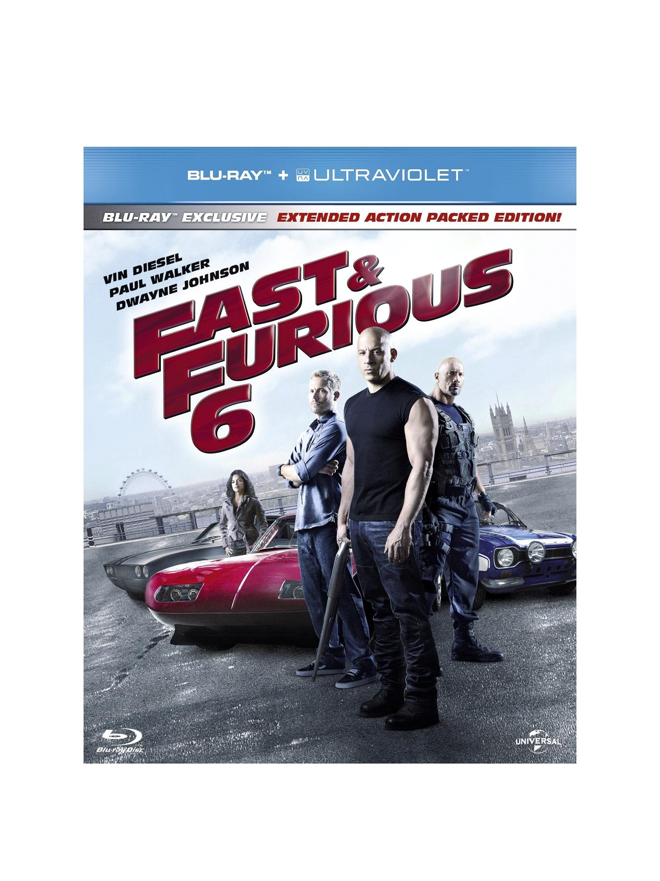 Fast and Furious 6 Blu-ray