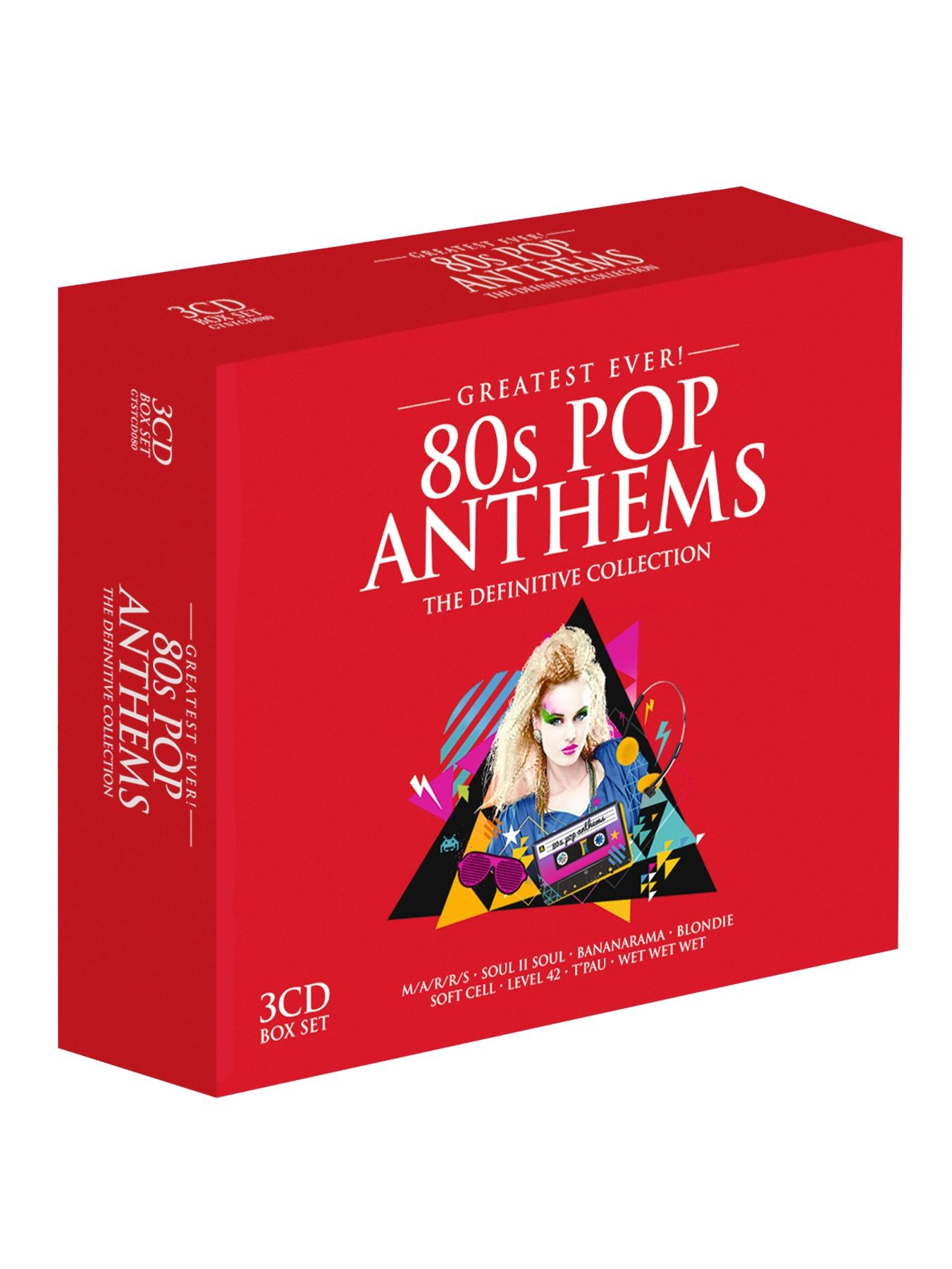 Eighties Pop Anthems CD
