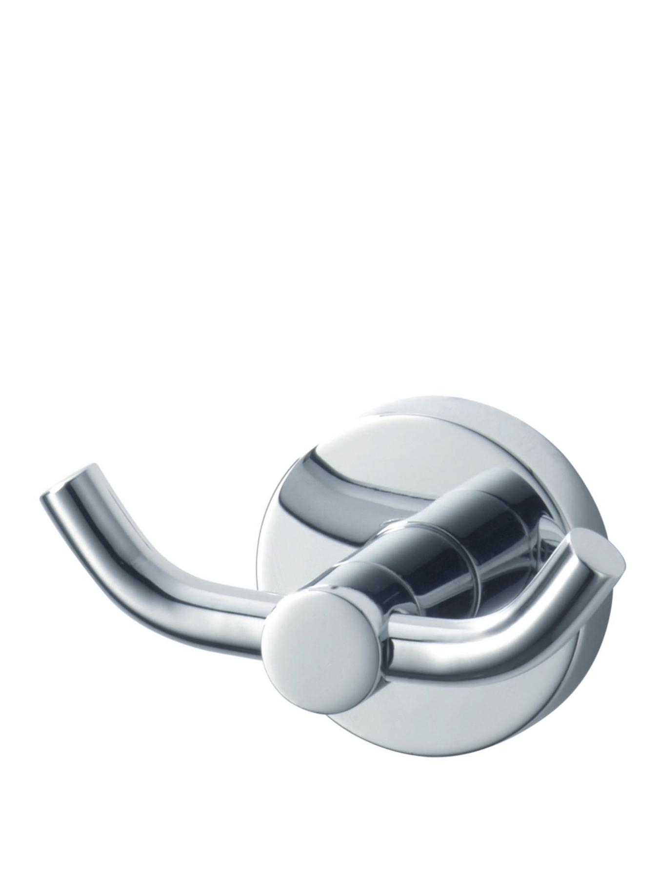 Kosmos Double Chrome Bathroom Hook