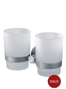 aqualux-haceka-kosmos-double-glass-beaker-and-chrome-holder