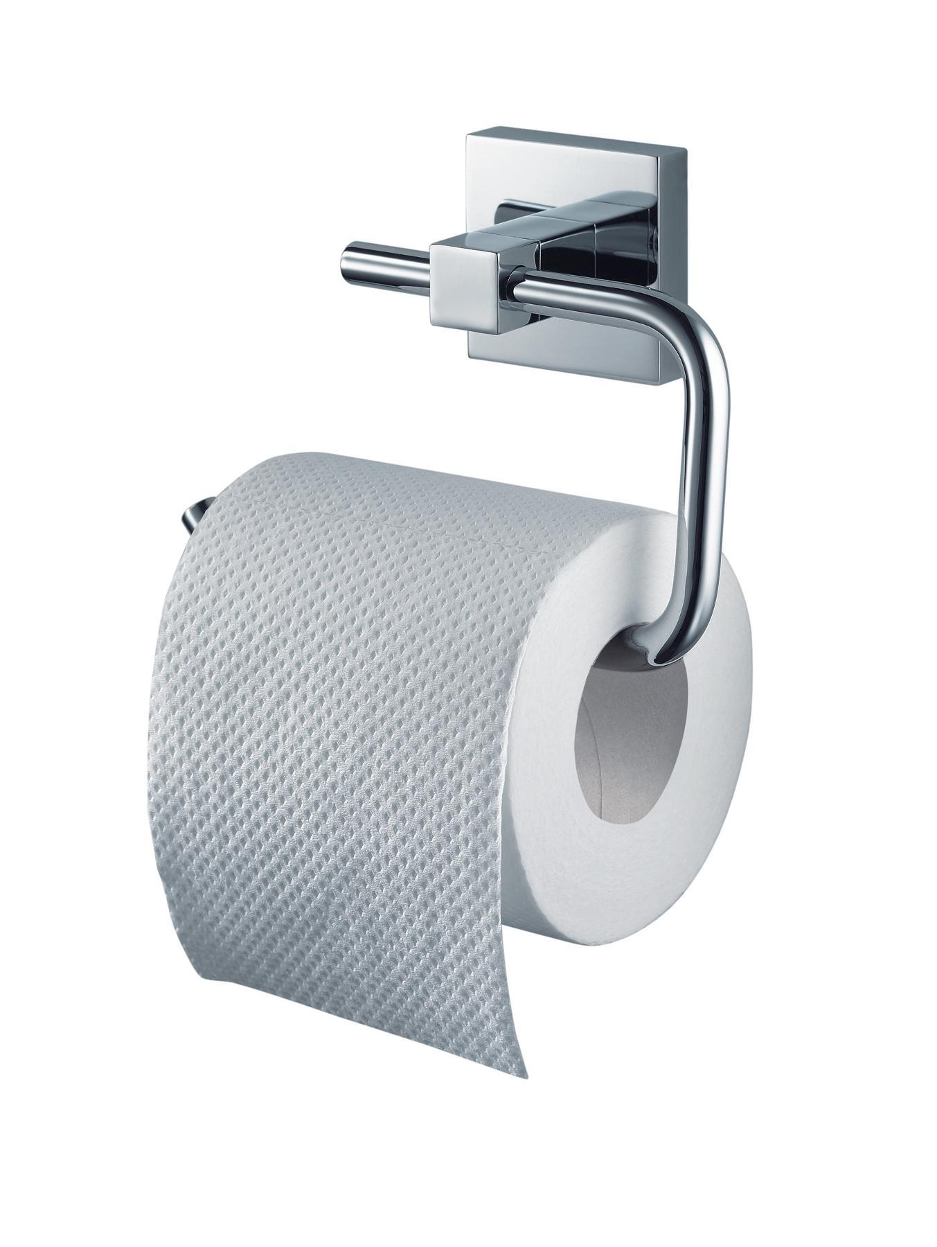 Mezzo Chrome Toilet Roll Holder