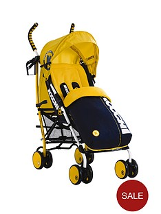 koochi-speedstar-pushchair-primary-yellow