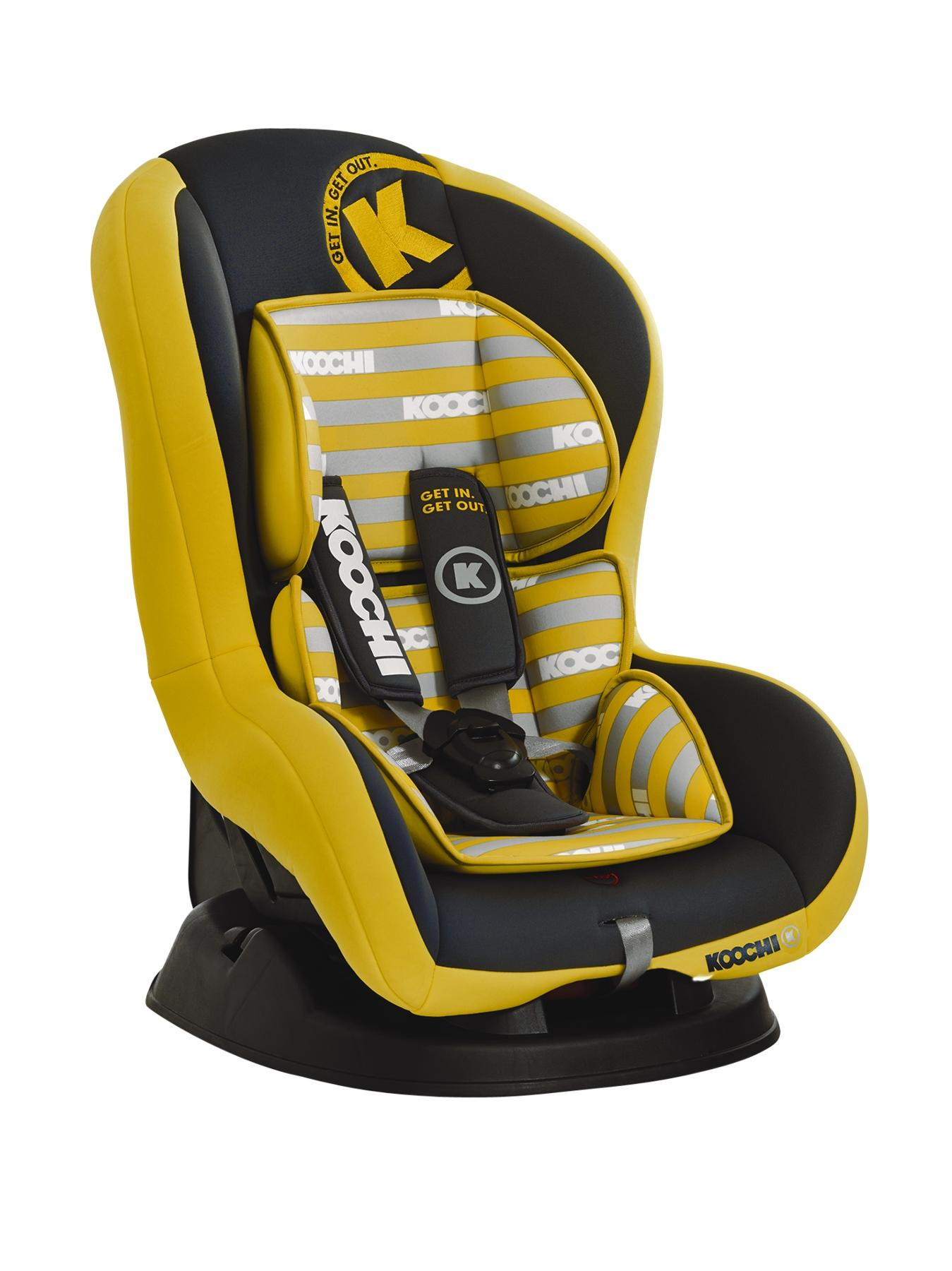 Kickstart Group 1 Car seat - Primary Yellow