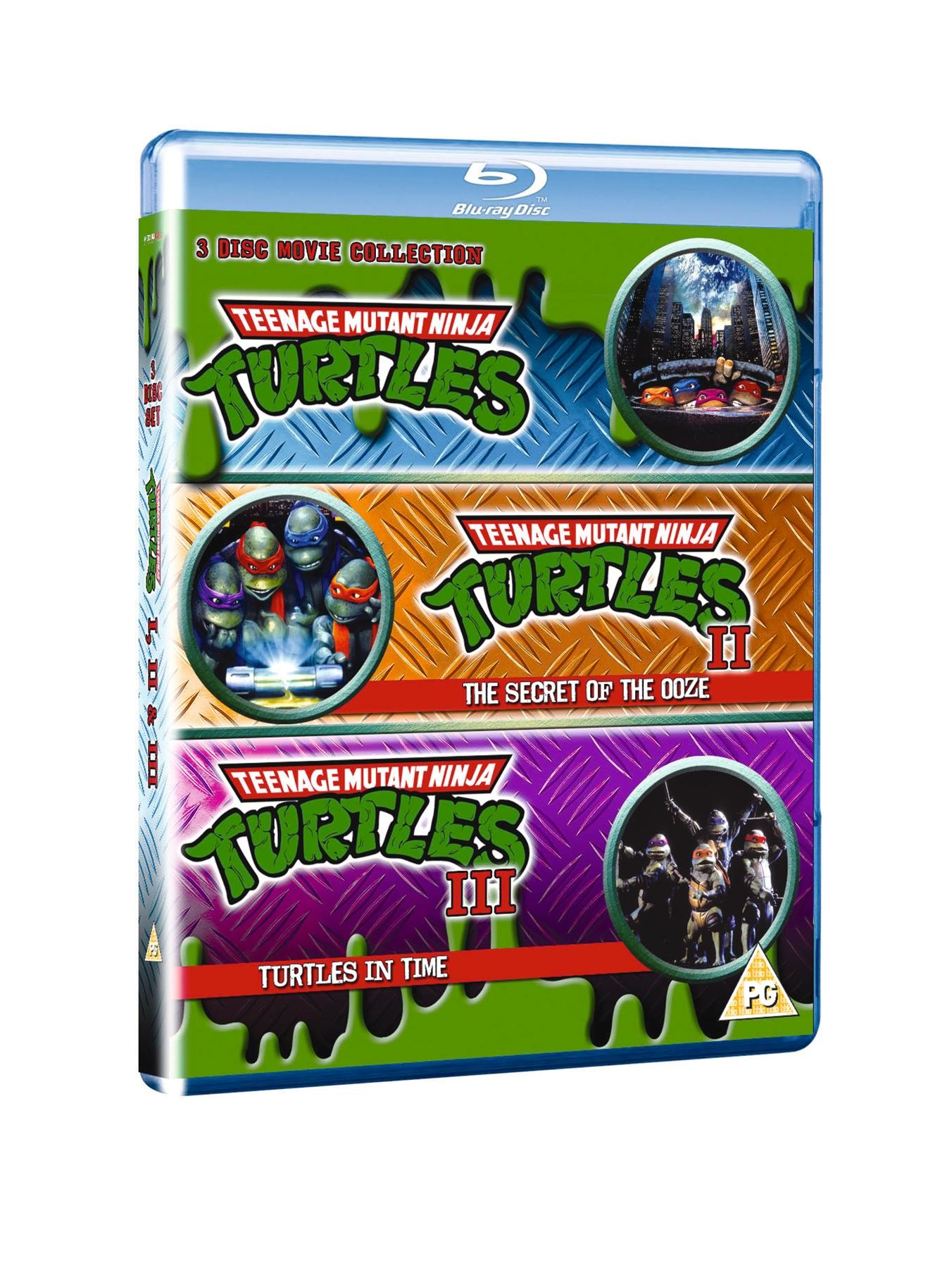 Teenage Mutant Ninja Turtles - The Movie Collection Blu-ray