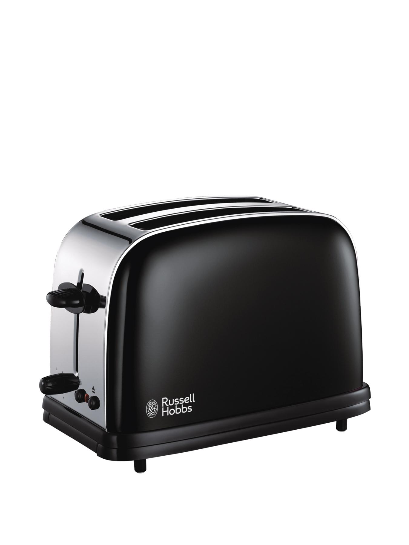 Russell Hobbs  2-Slice Toaster, Black