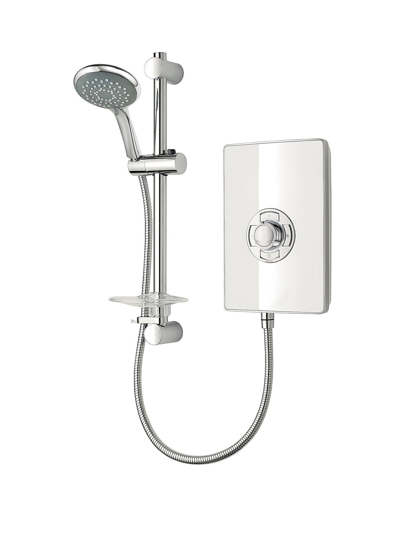 White Gloss Electric Shower
