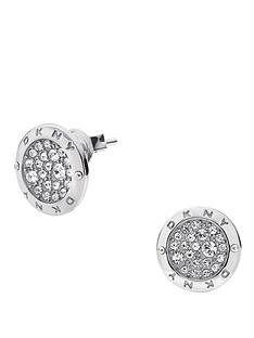 dkny-ladies-stainless-steel-glitz-earrings