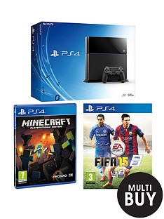 playstation-4-console-with-fifa-15-and-minecraft
