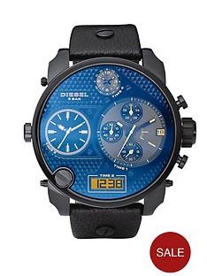 diesel-mr-daddy-black-chrono-blue-dial-mens-watch