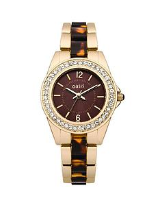 oasis-ladies-brown-set-dial-gold-tone-and-tortoise-shell-bracelet-watch