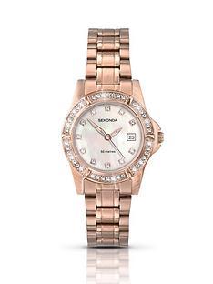 sekonda-ladies-rose-gold-plated-stone-set-watch