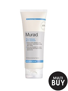 murad-anti-ageing-time-release-blemish-cleanser-200ml-and-free-murad-flawless-finish-gift-set