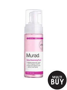 murad-pore-reform-daily-cleansing-foam-150ml-and-free-murad-flawless-finish-gift-set