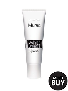murad-white-brilliance-illuminating-night-moisture-100ml-and-free-murad-flawless-finish-gift-set
