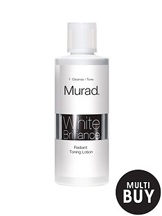 murad-white-brilliance-radiant-toning-lotion-180ml-and-free-murad-flawless-finish-gift-set
